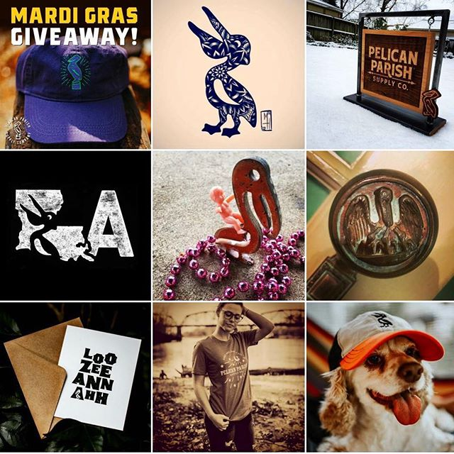 Pelican Parish Top 9, 2018. See y'all on the flip side with new goods and good times.