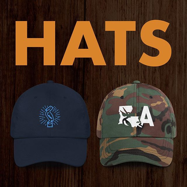 "HATS ARE HERE! Check out the online shop for a variety of Louisiana-centric headwear in a variety of colors - link in bio. Andddd take 10% OFF ANY ORDER through Tuesday, August 20 by entering the code ""PELICAN"" at checkout!"