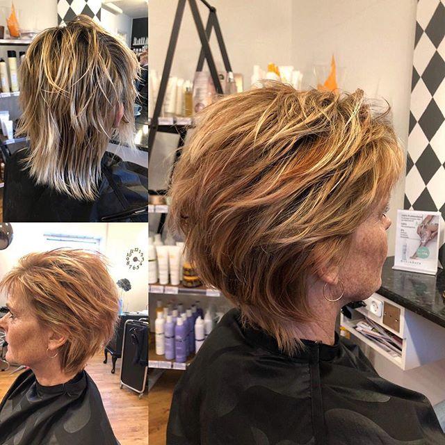 #farve #color #efterårsfarve #korthår #shorthair #short #shortandstillong #langtkorthår #milkshakefarver #milkshakecolor #milkshake #frisør #hairdresser