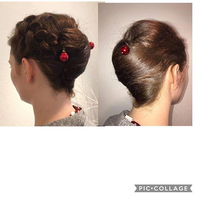 Julebrud uden slør.. #brud #bride #opdo #långhårsopsætning #juleopsætning #christmasbride #enkelopsætning #fletning #braide #wedding #weddinghair #weddinghairstyles #beautiful #hairstyle #longhair  #christmas #julebrud