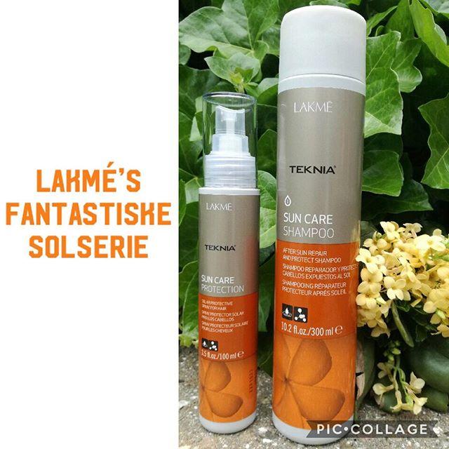 LAKMÉ SOLSERIE - Opløser klor & salt - Intens fugt & pleje - Beskytter mod UV  stråler☀️ ———————————- Sun Care Shampoo +  Sun Care Protection  #sun #summer #suncare #protection #LAKME #haircare #nicehair #fresh #hairdresser