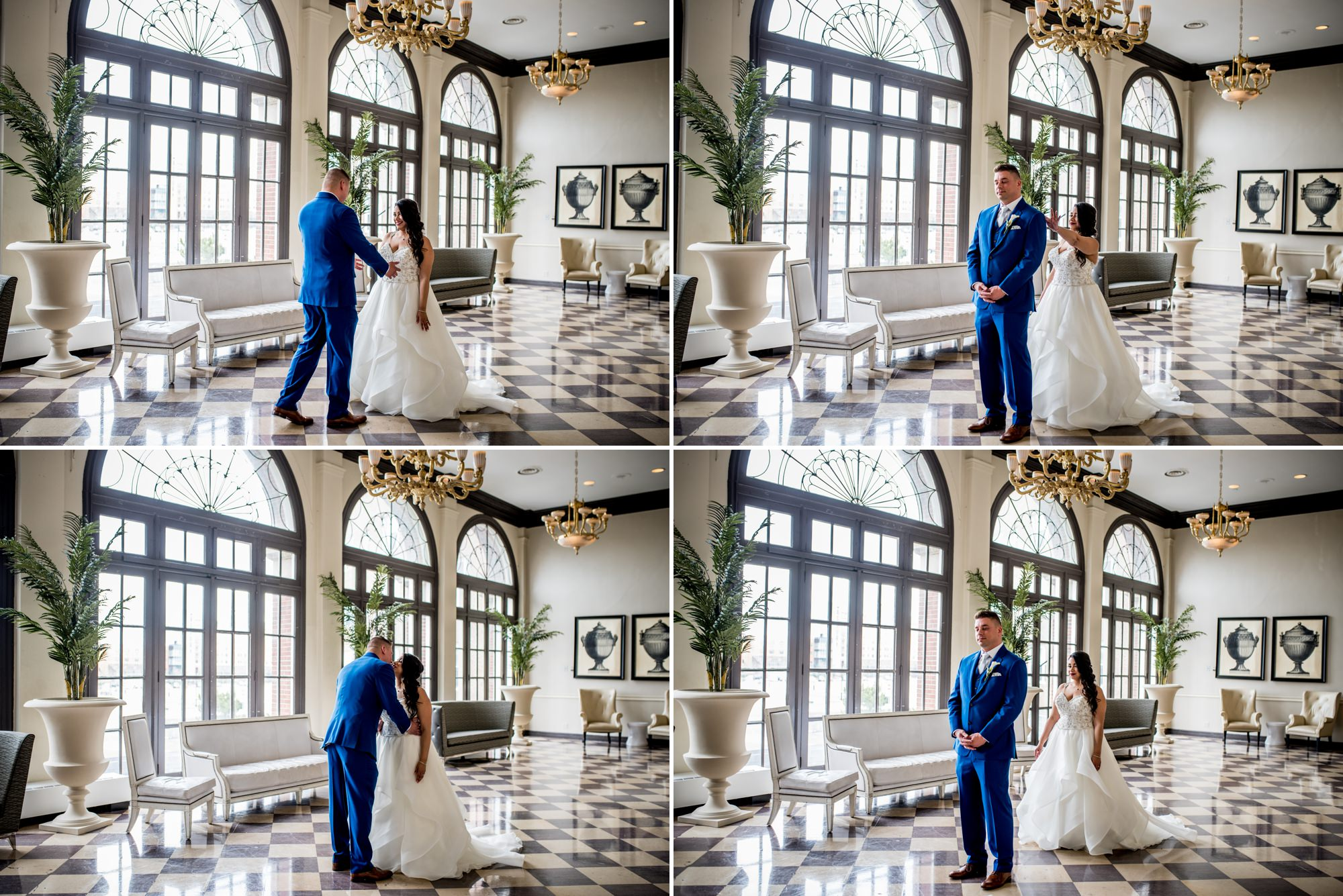 First Look | The Berkeley Hotel | Shooting for Kit and Bug Photography | Asbury Park Photographer | Spring Lake Photographer | Wedding Photographer | Jersey Shore Photographer