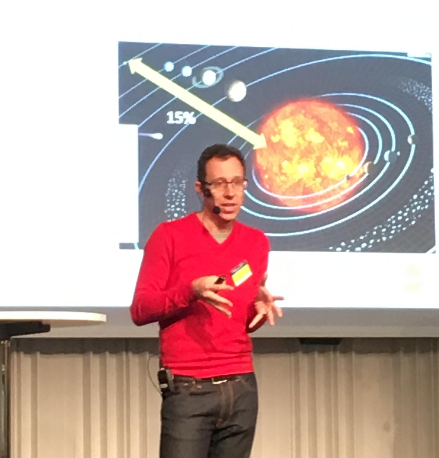 Mattias Öberg från Swetox pratade om hormonstörande ämnen