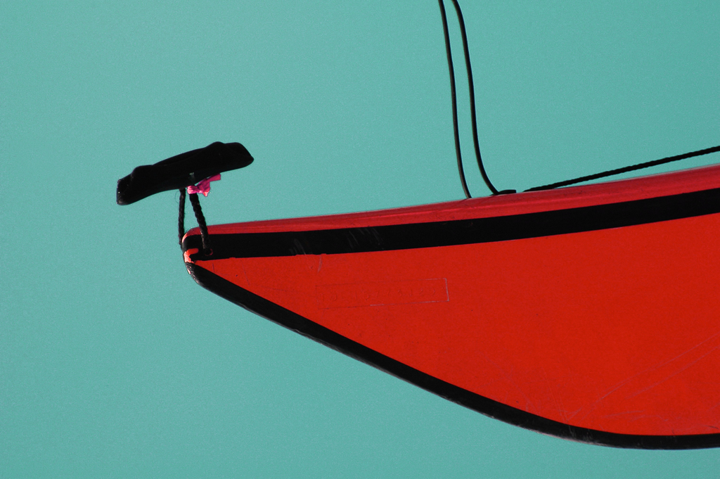 Red Kayak - Port Clyde, Maine