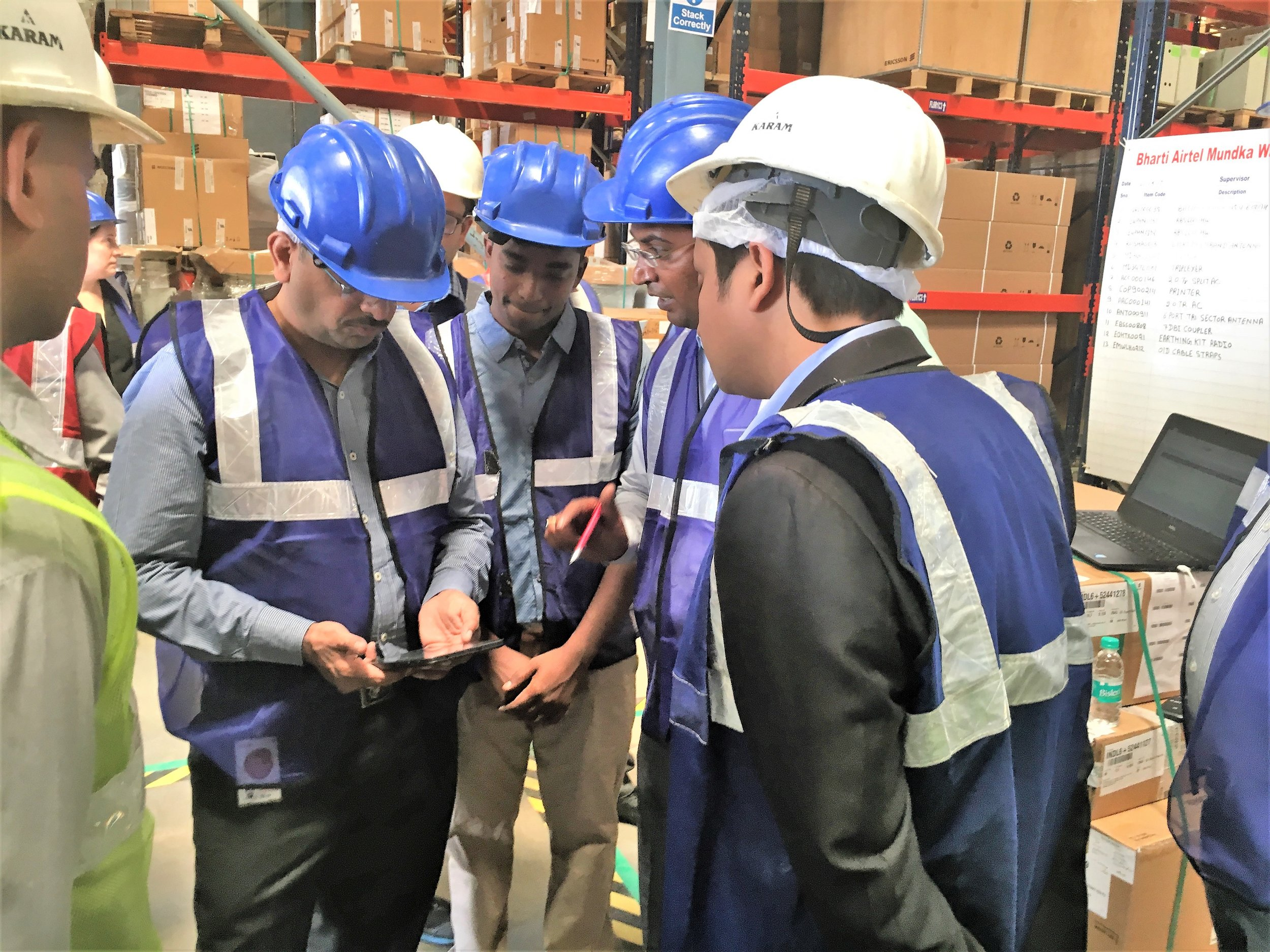 Warehouse workers from one of the world's biggest telecoms use their mobile device as a field decision support tool, intelligently locating spares for efficient inventory management.