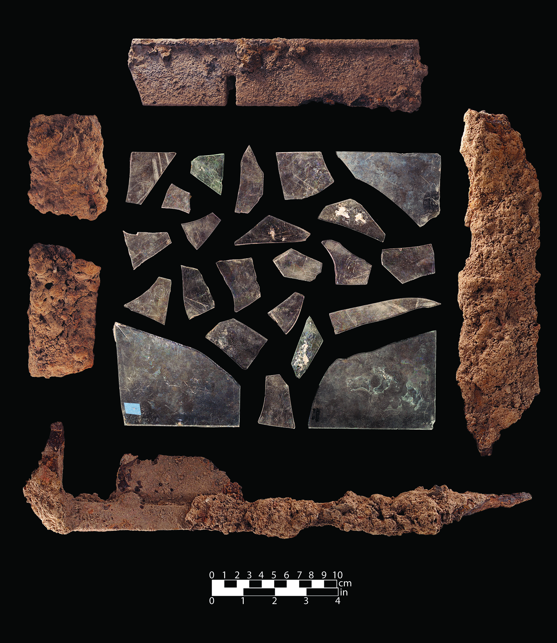 G1 Photo 26 (2013 excavations)  13043 D12 038_window glass and metal.jpg
