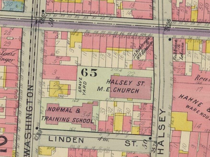 Newark atlas 1911