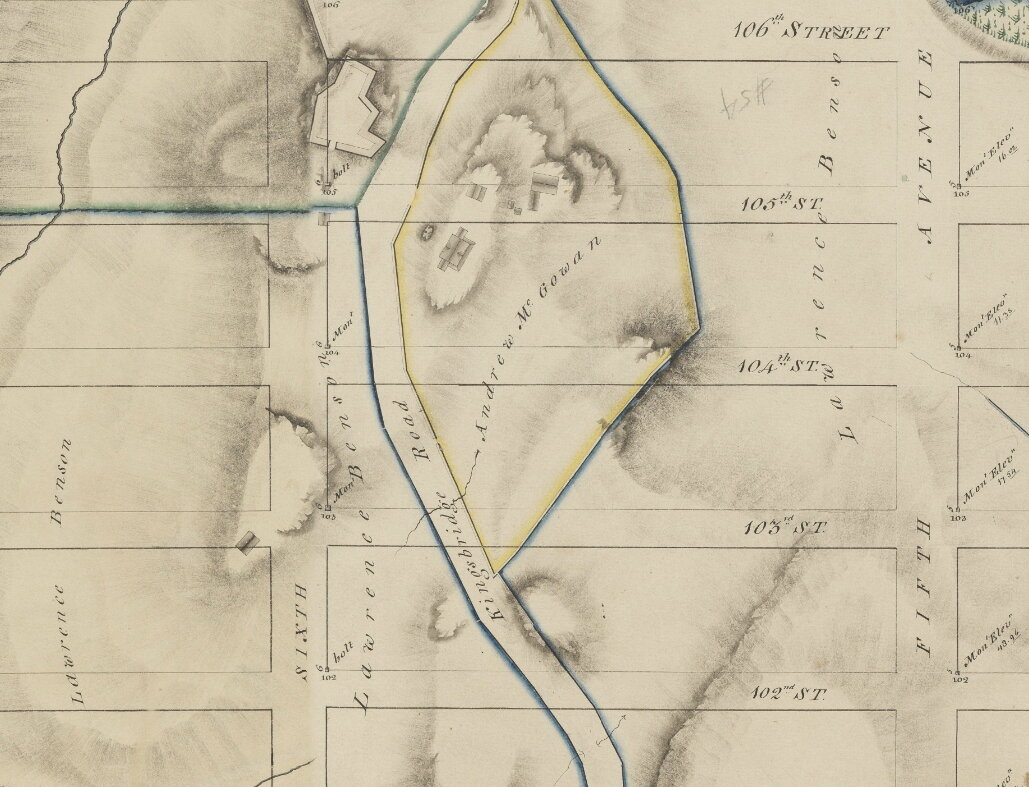 Detail of Randel Farm Maps