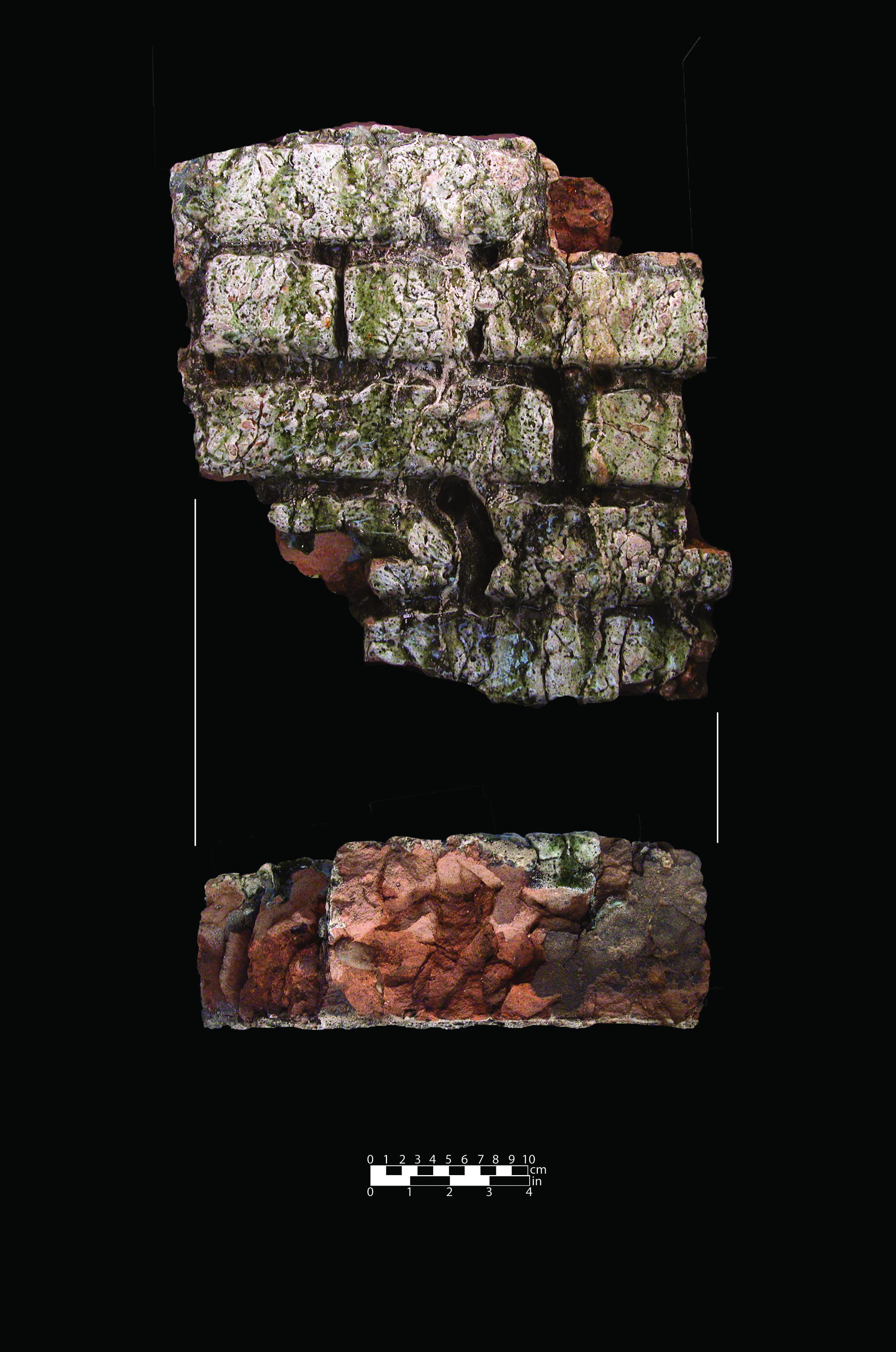 Steel furnace brick masonry