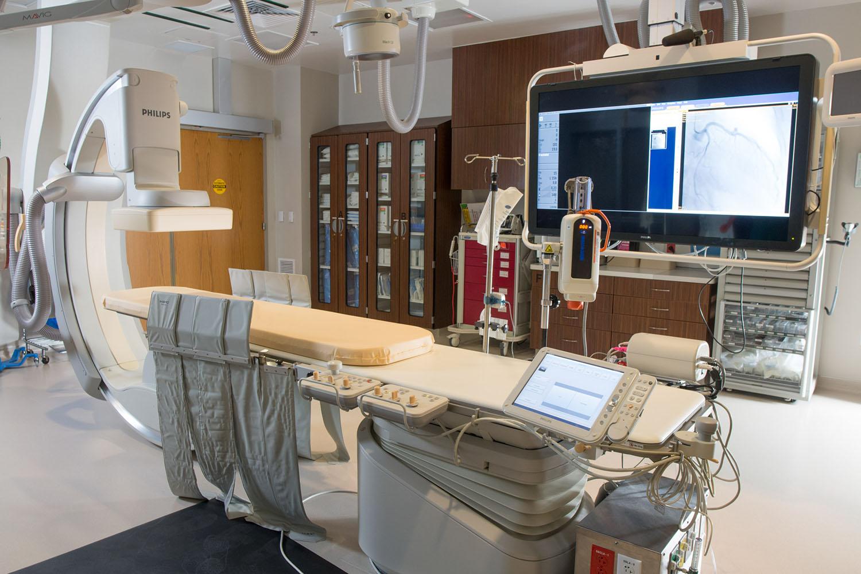 Cath lab at Orlando Regional Hospital.