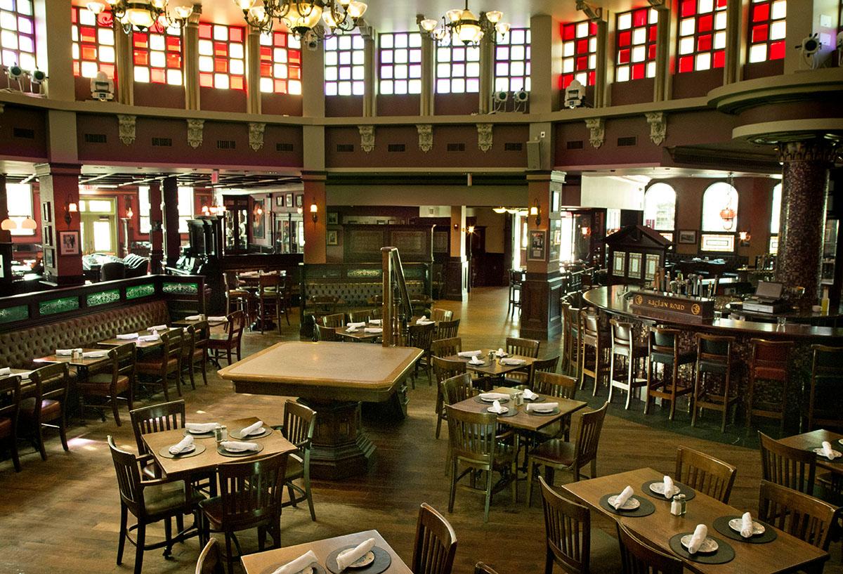 Raglan Road Irish Pub at Disney Springs. Photo by Tom Burton