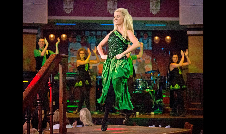 The Raglan Road Irish Dancers. Photo by Tom Burton