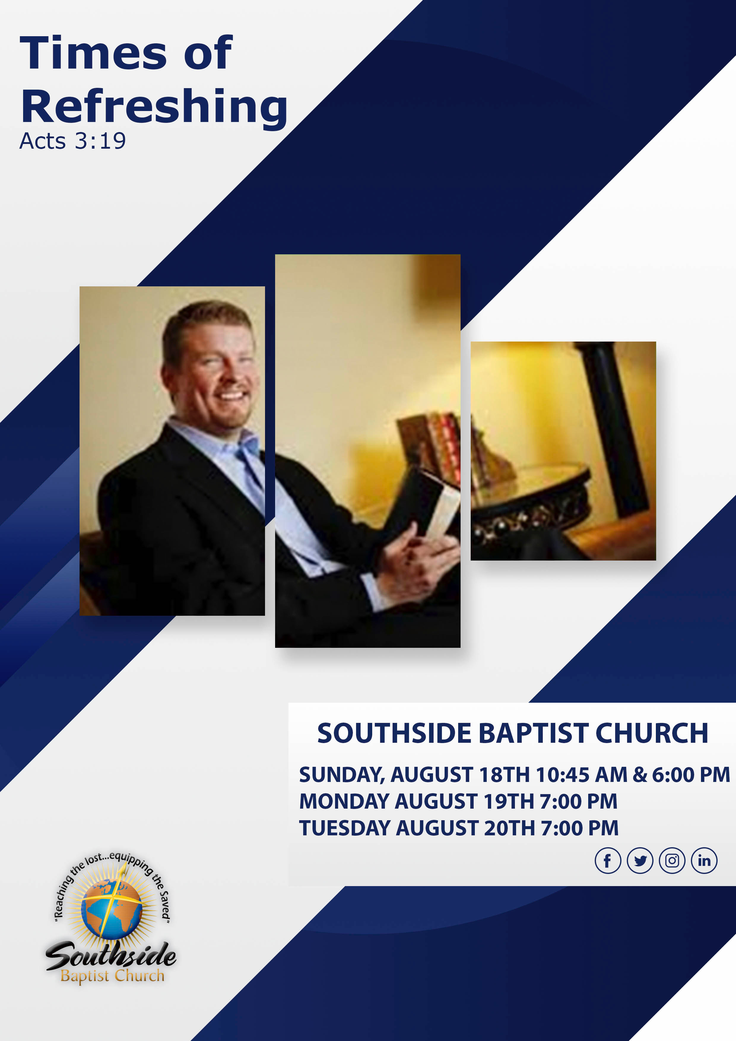 Everyone is welcome to join us for this wonderful event featuring guest speaker Scott Smith.