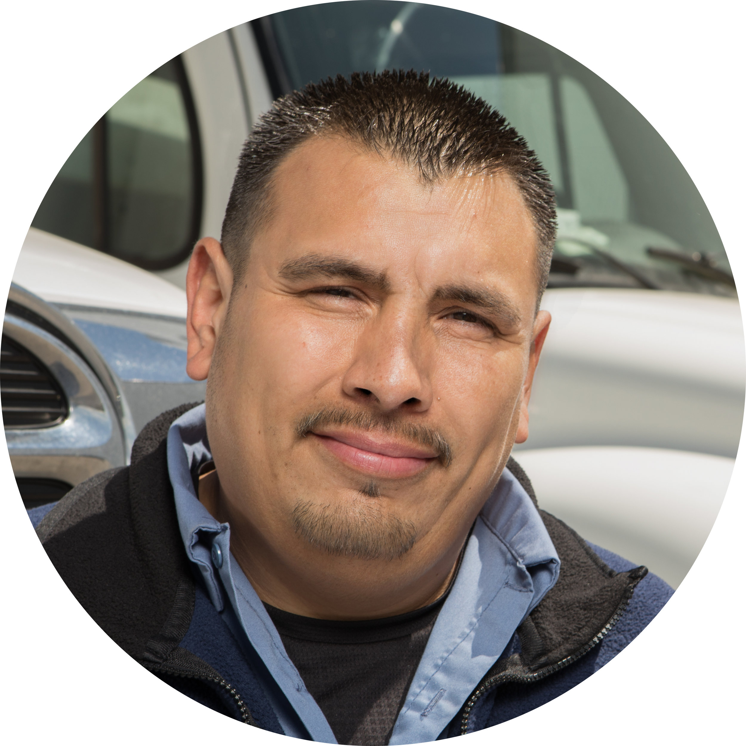 """GERALD - """"I love the sense of accomplishment I get from having an empty truck and seeing my customers' smiling faces. It's great hearing their positive feedback when we solve their problems and bring what they need to keep their business thriving!"""""""