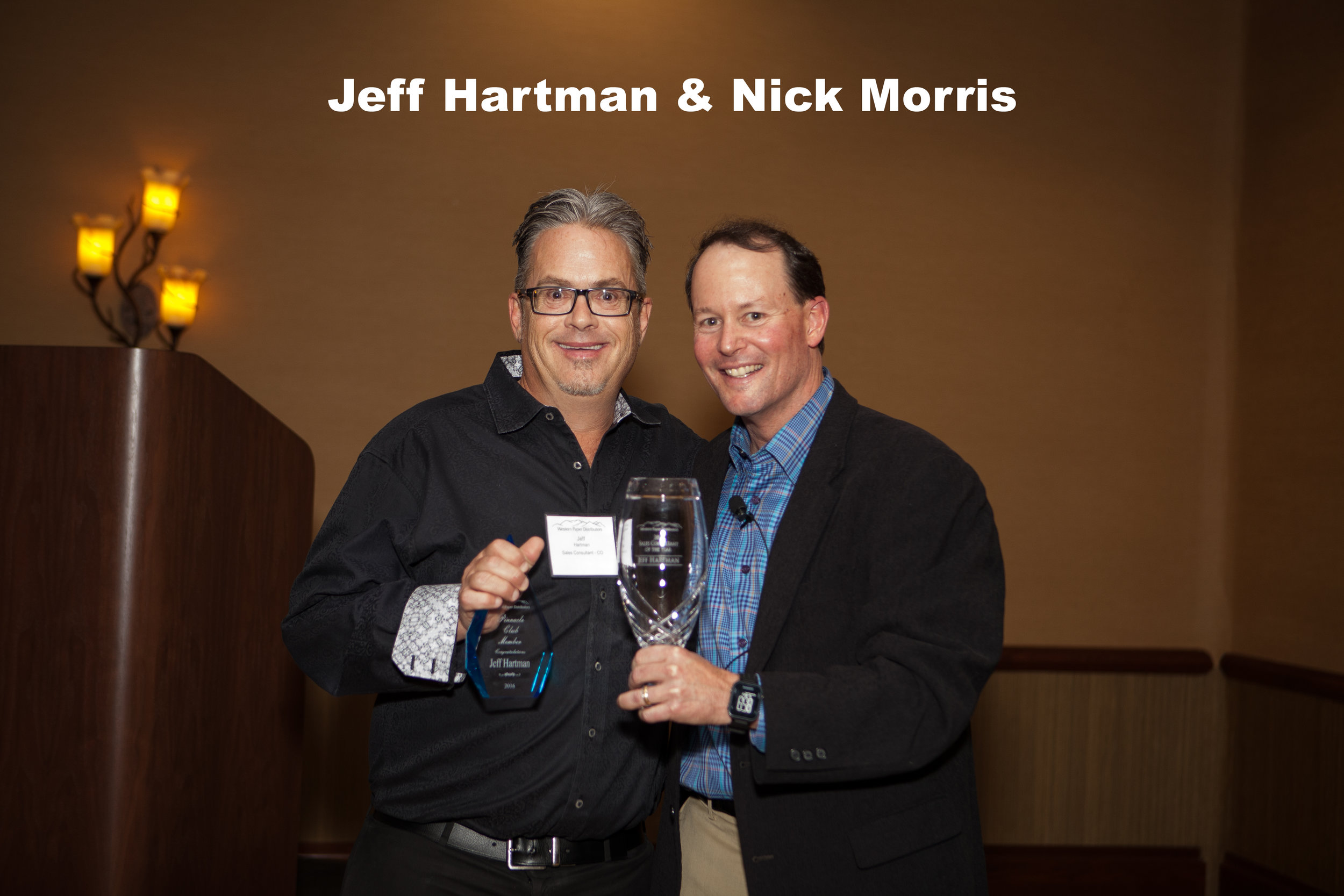 - 2016 Sales Consultant of the YearJeff Hartman