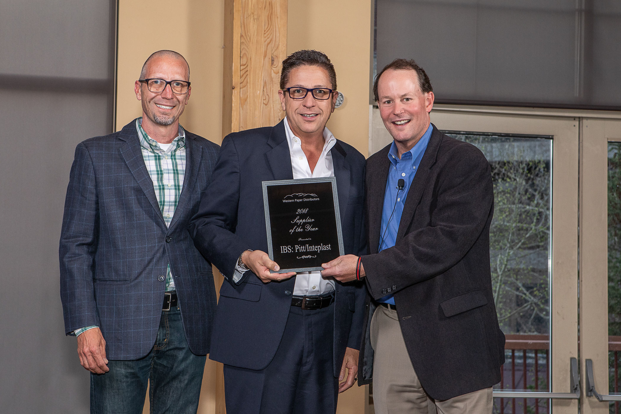 Inteplast Group (Joe Valdez & Steve Hughes) - Supplier of the Year