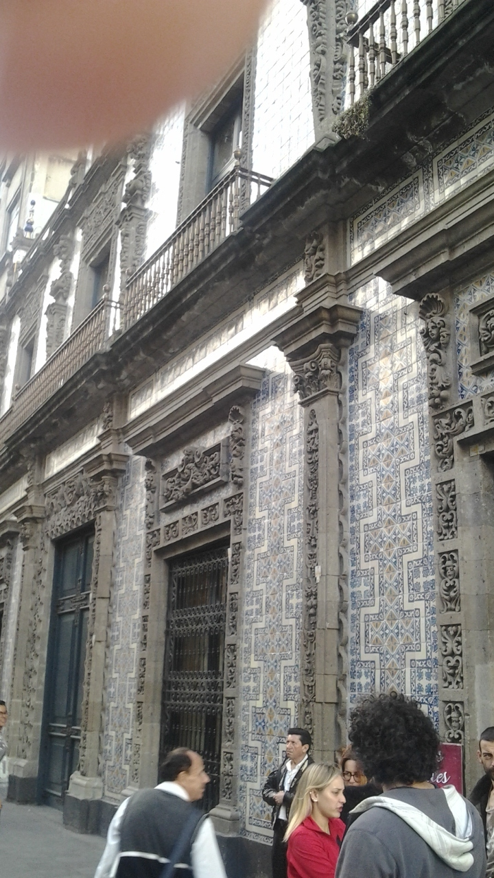 House of Blue Tiles, Mexico City