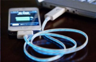 Could a cord that visualizes the the flow of electricity help us use less? [ image ]