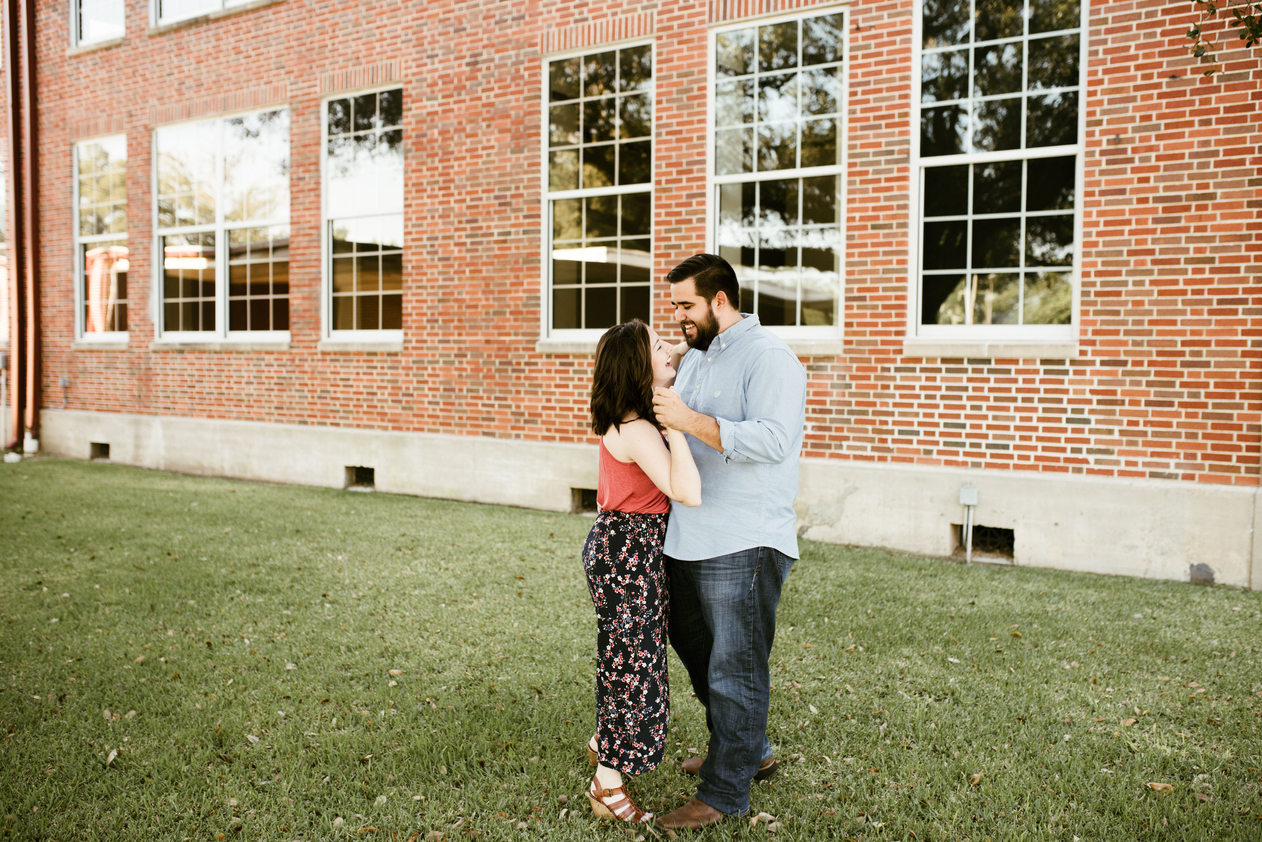Humble, TX Engagement Session | Houston Natural Light Photographer | www.jordanmitchellphotography.com