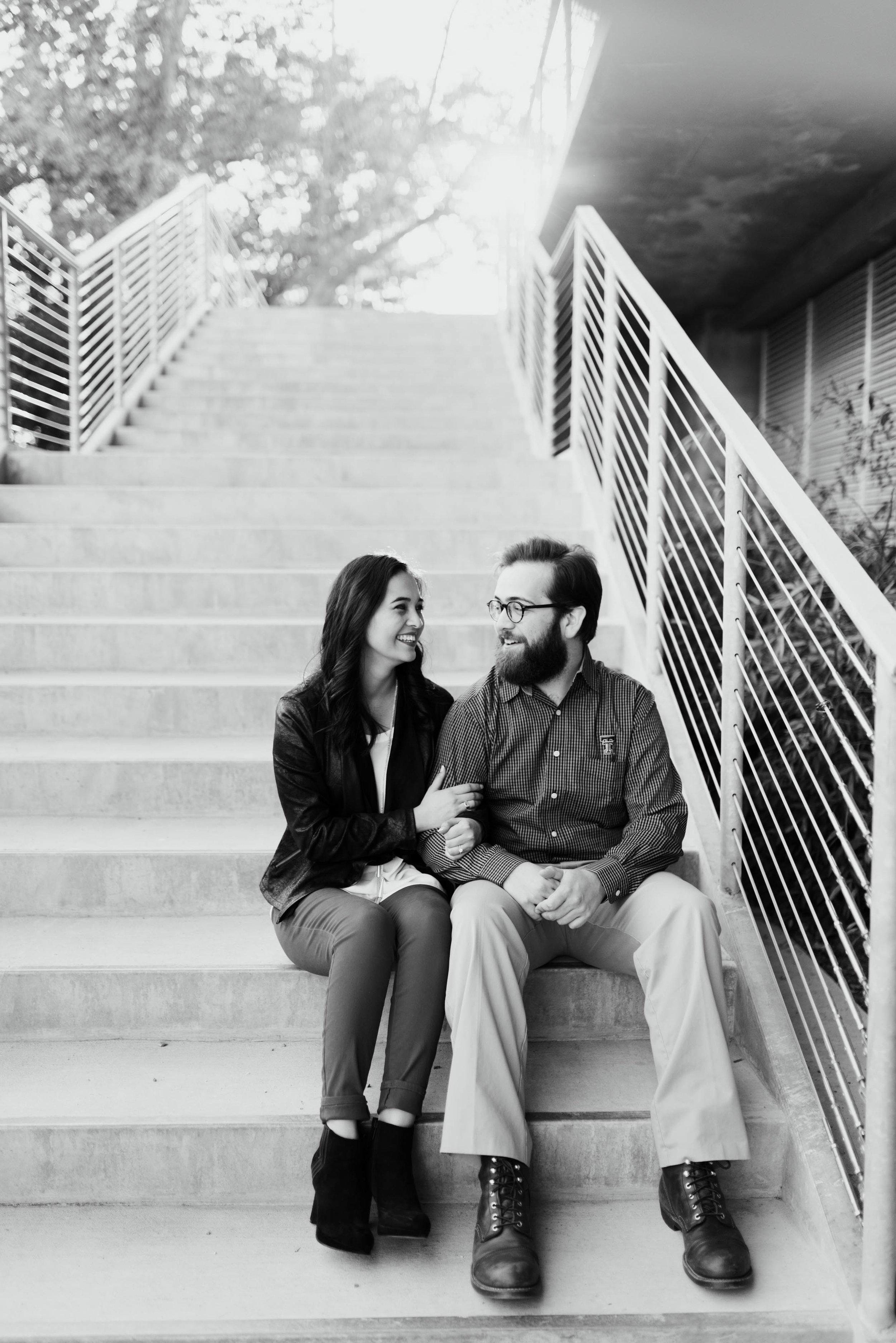 Houston Engagement Session | Houston Natural Light Photographer | www.jordanmitchellphotography.com