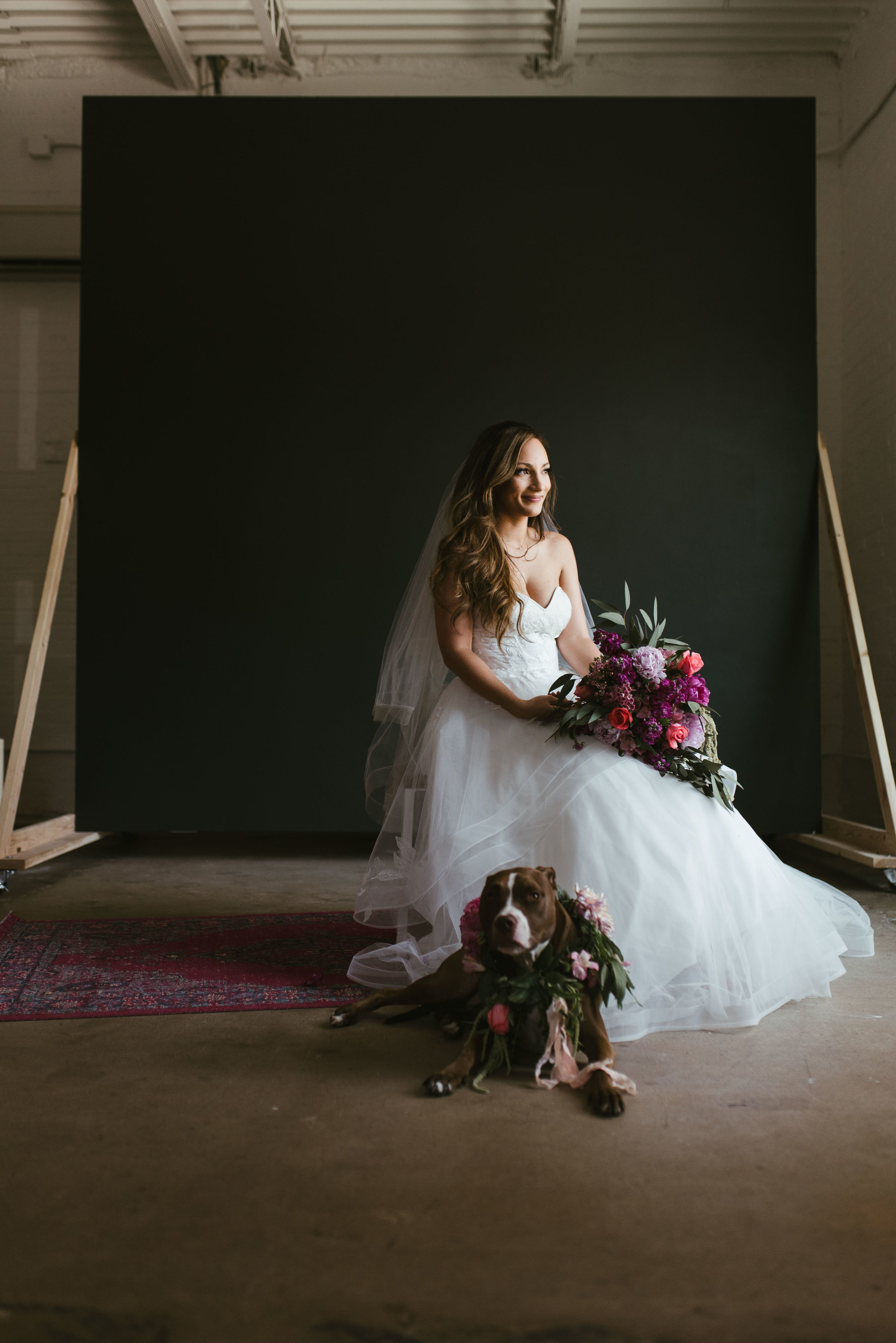 The TX Studio Bridal Session | Fort Worth Wedding Photographer | Jordan Mitchell Photography | www.jordanmitchellphotography.com