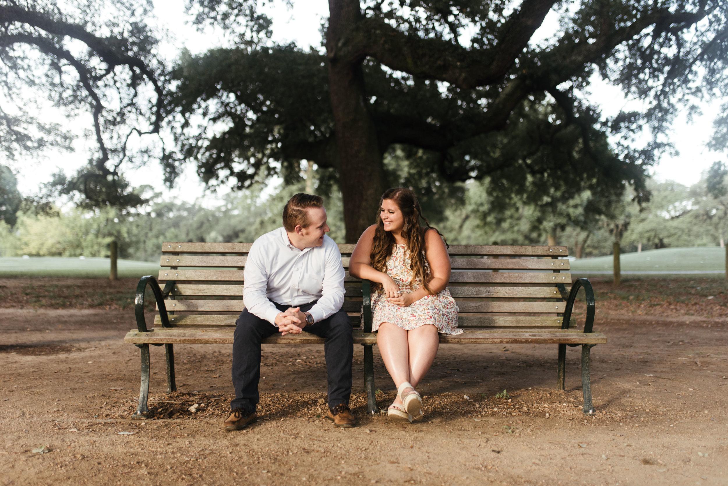 Hermann Park Engagement Session | Fort Worth Wedding Photographer | Jordan Mitchell Photography | www.jordanmitchellphotography.com