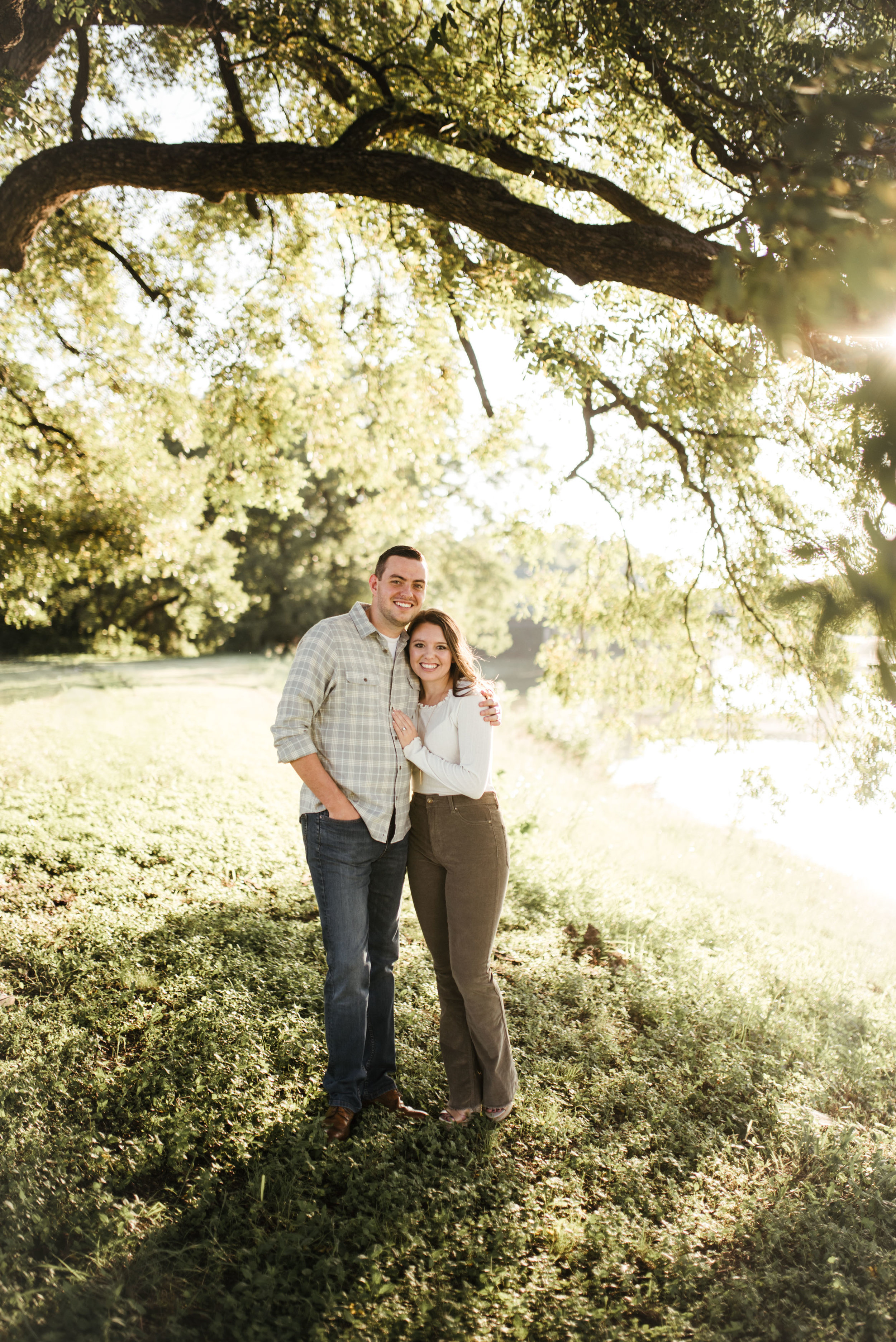 Fort Worth engagement session | Fort Worth engagement photographer | Fort Worth Wedding photographer | www.jordanmitchellphotography.com