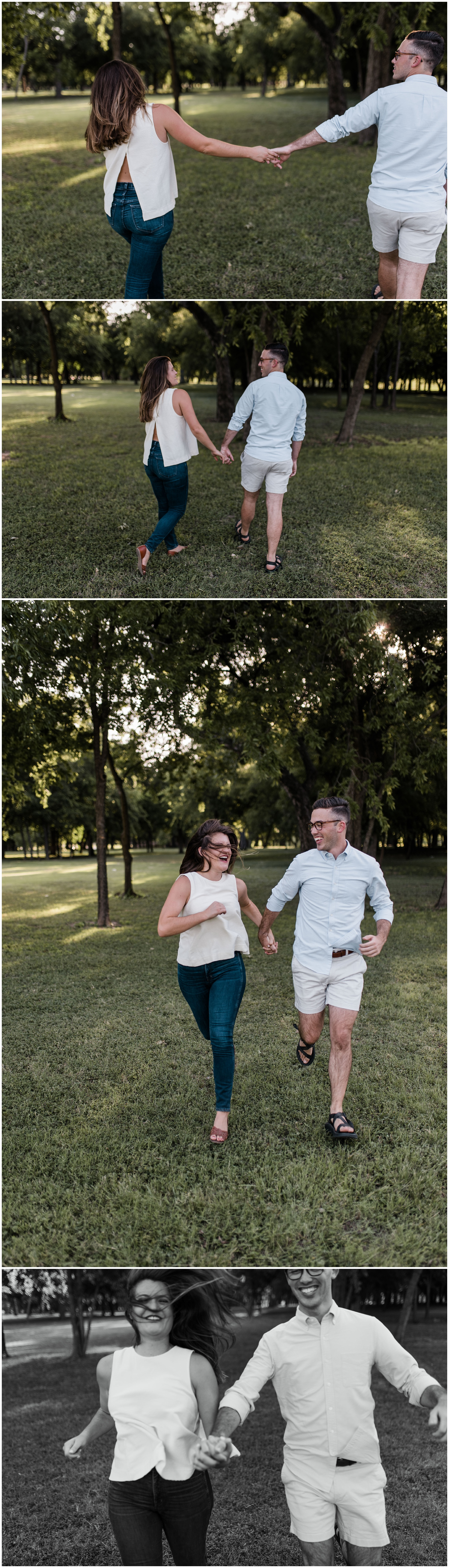 trinity park engagement session | Fort Worth engagement session | Fort Worth wedding photographer | www.jordanmitchellphotography.com
