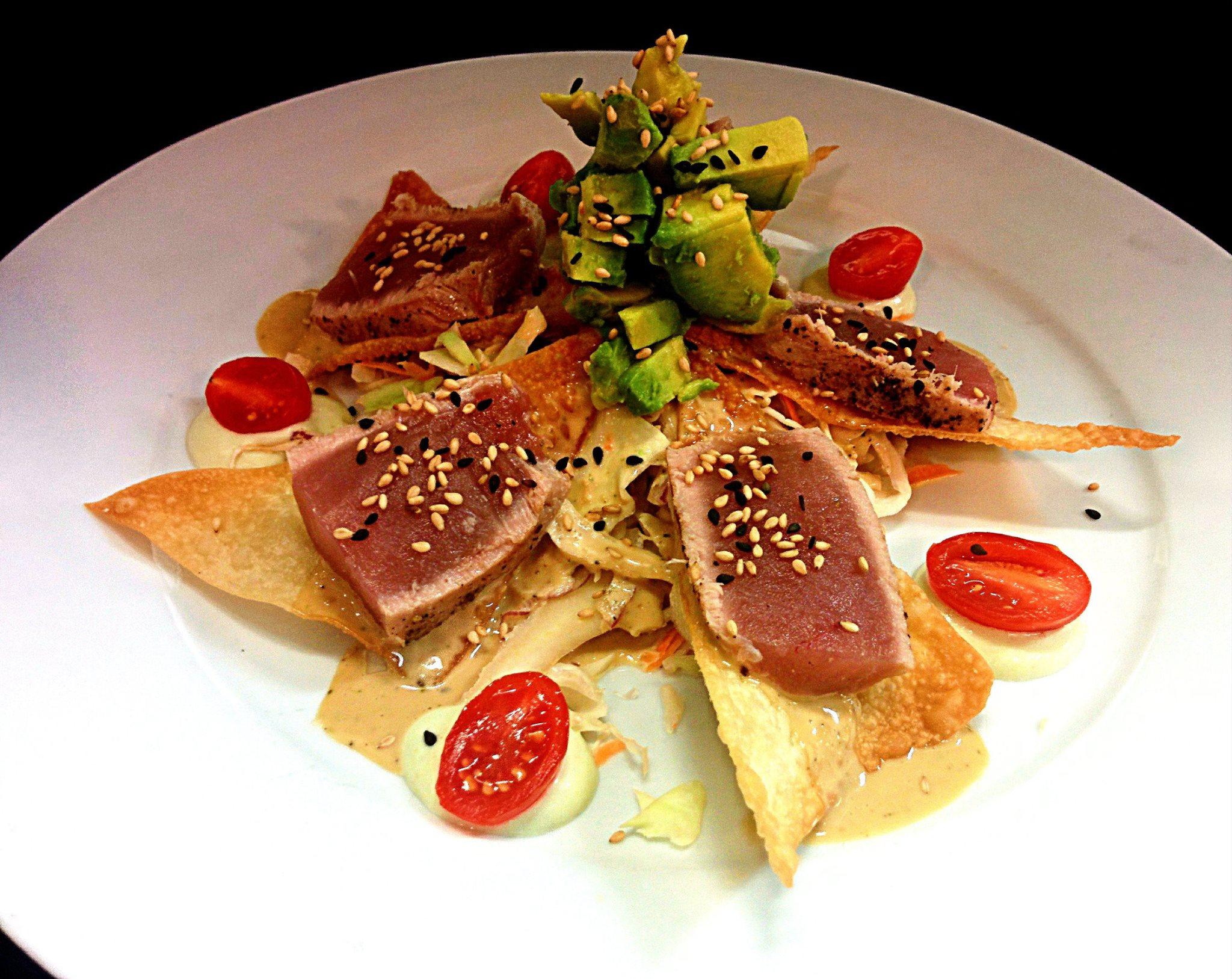 Tuna Nachos