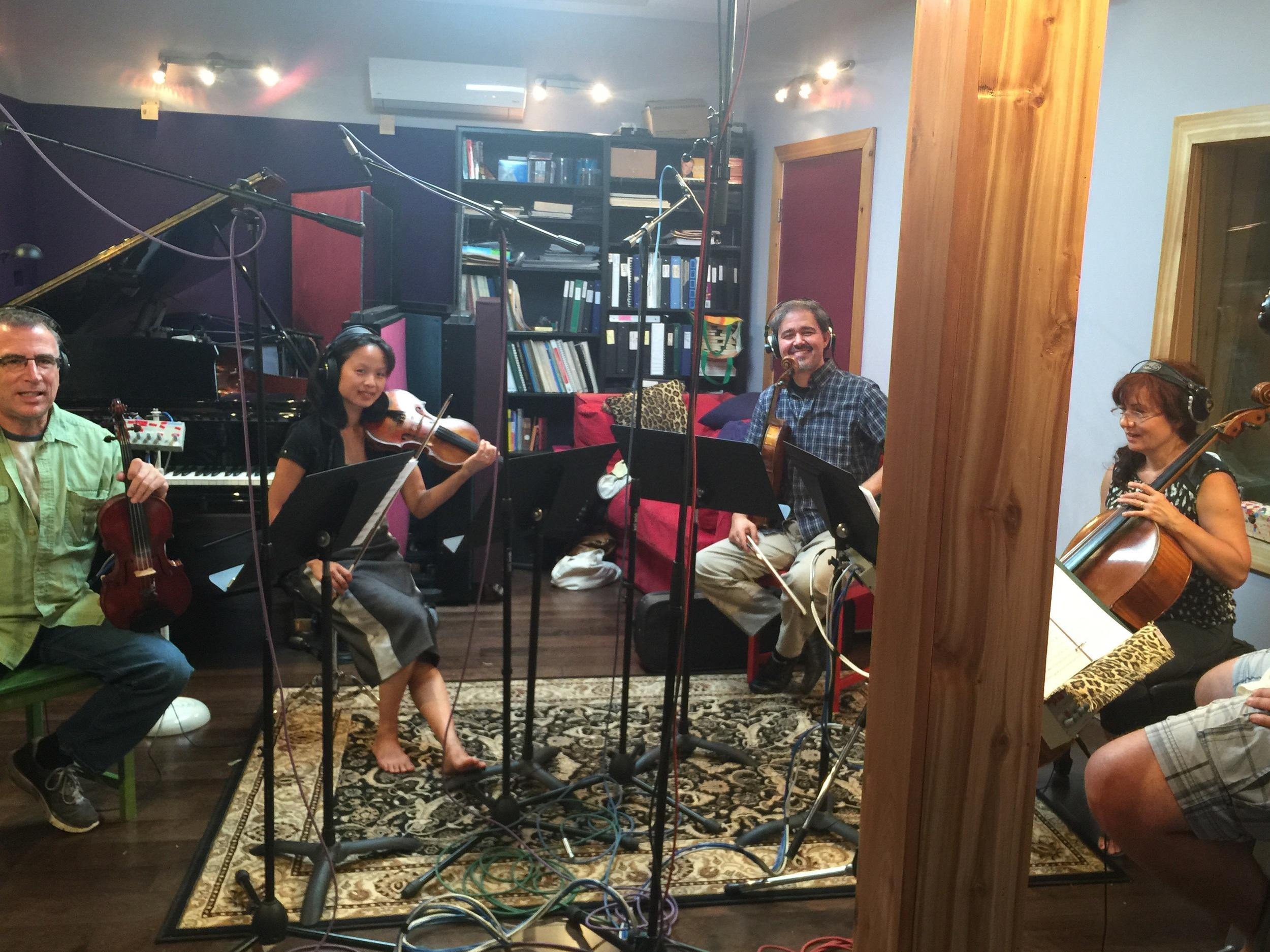 The amazing quartet!!