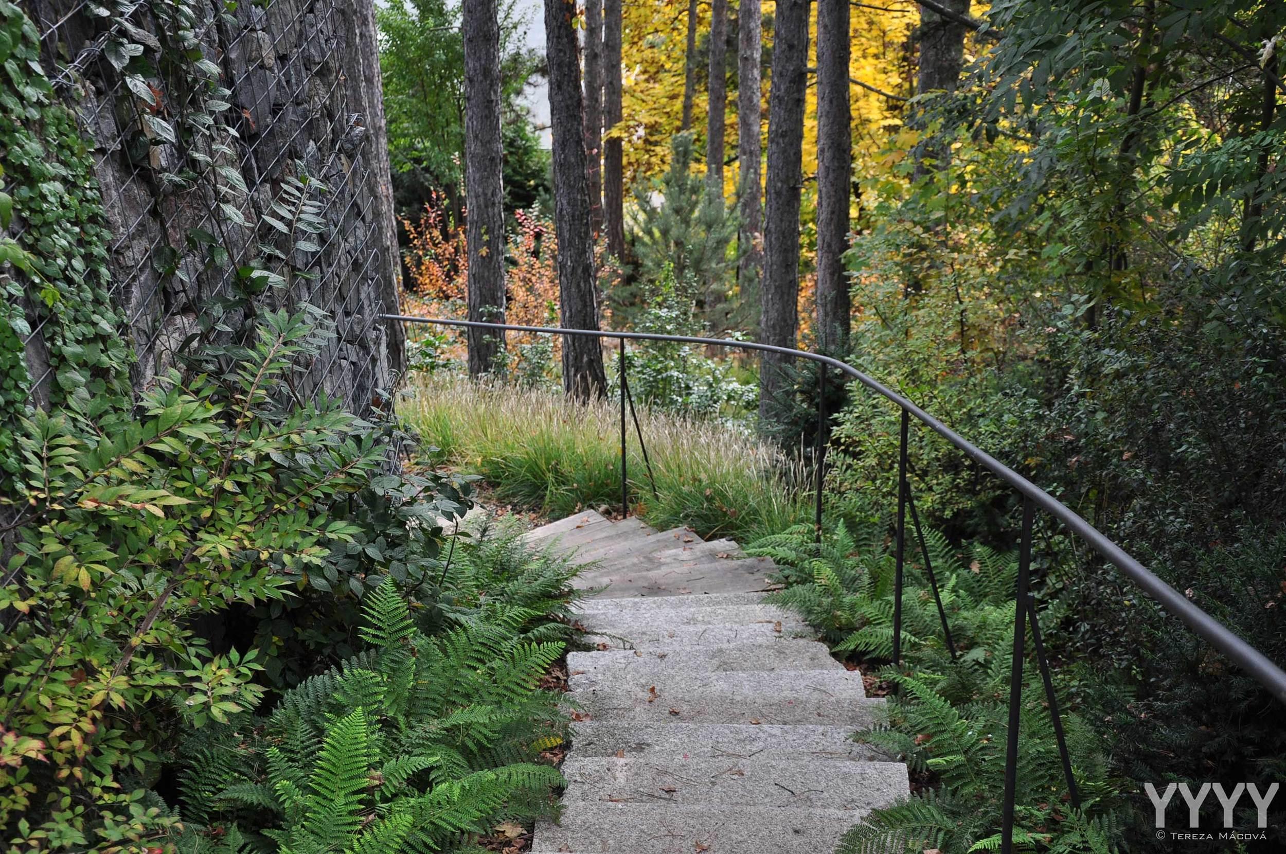 Zahrada s překvapením v lese