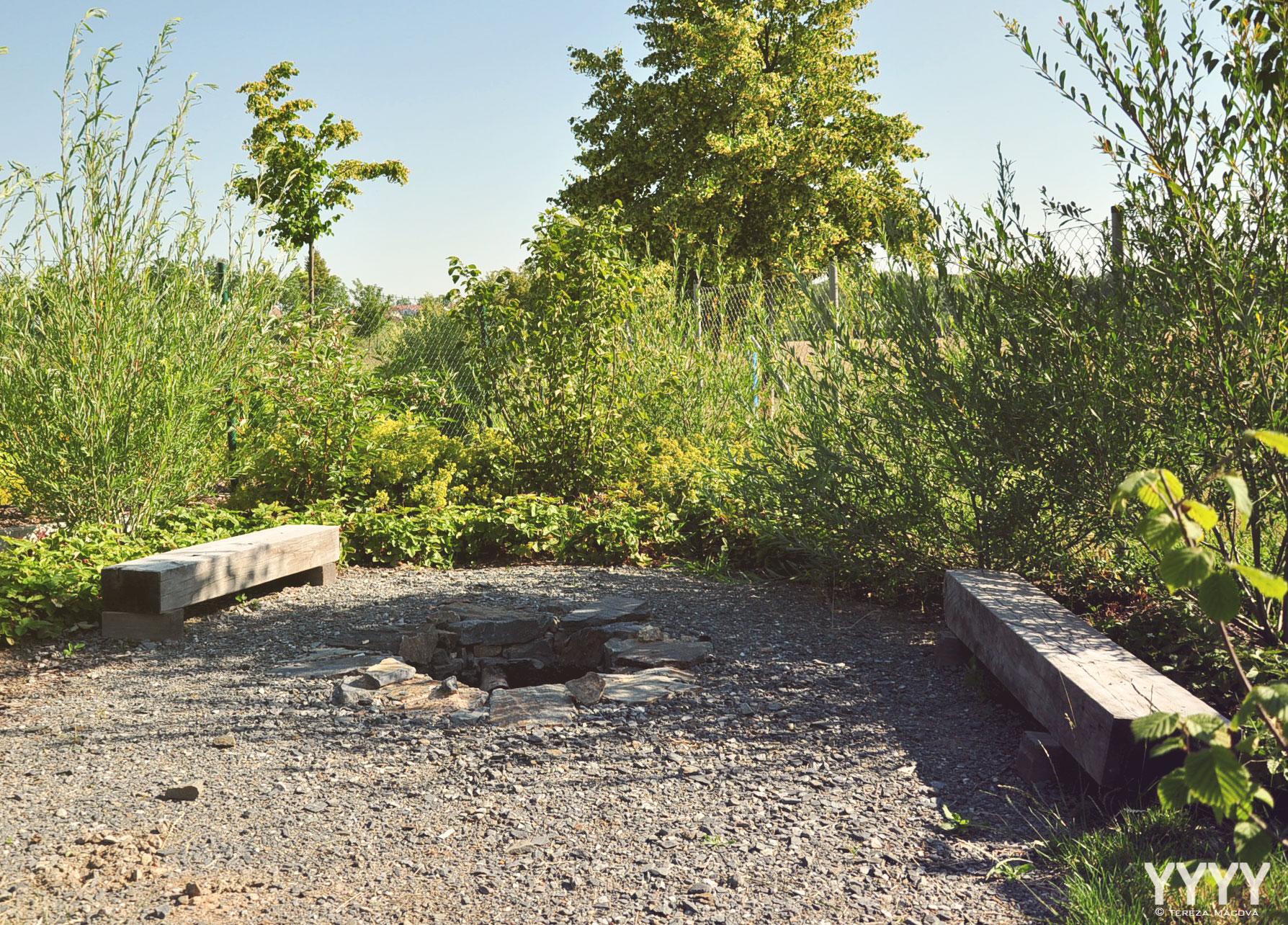 Zahrada v liniích