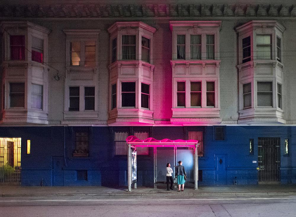 Near Dolores.San Francisco, CA.
