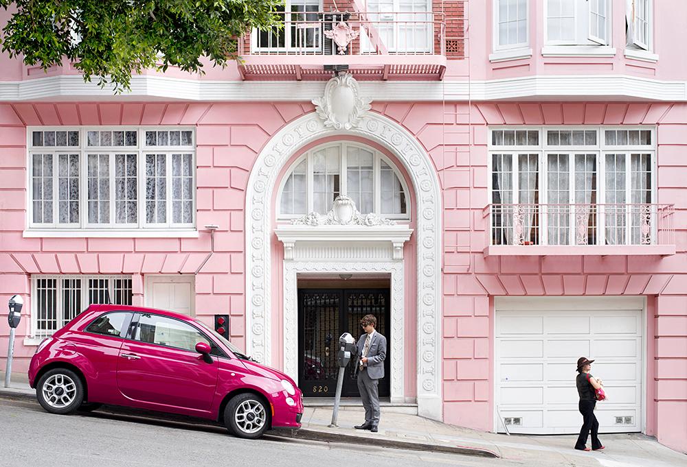Pretty in Pink. San Francisco, CA.