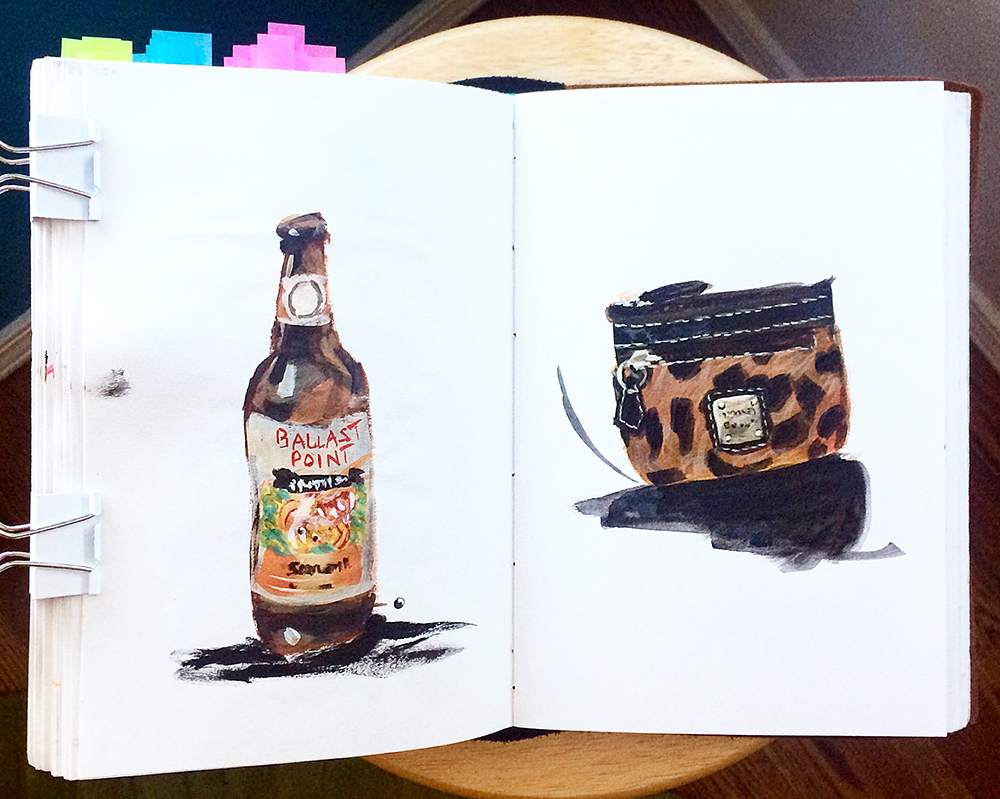 Days 250 + 251. First beer I ever drank and my favorite lil wallet.