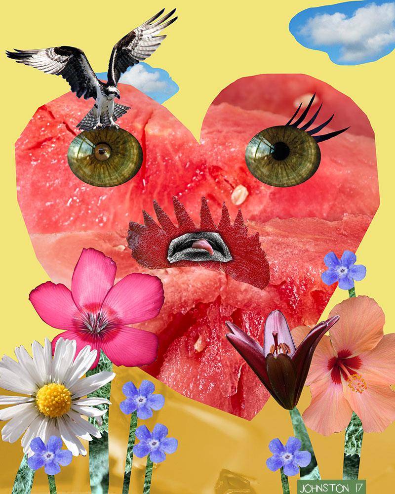 Laura Johnston Sourpuss Kids Digital Collage 2017