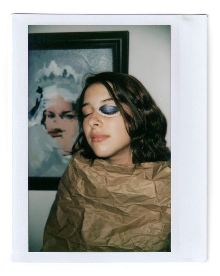 "Model: Veronica Instax Wide Film 3.4""x4.25"" 2017 San Jose, CA"