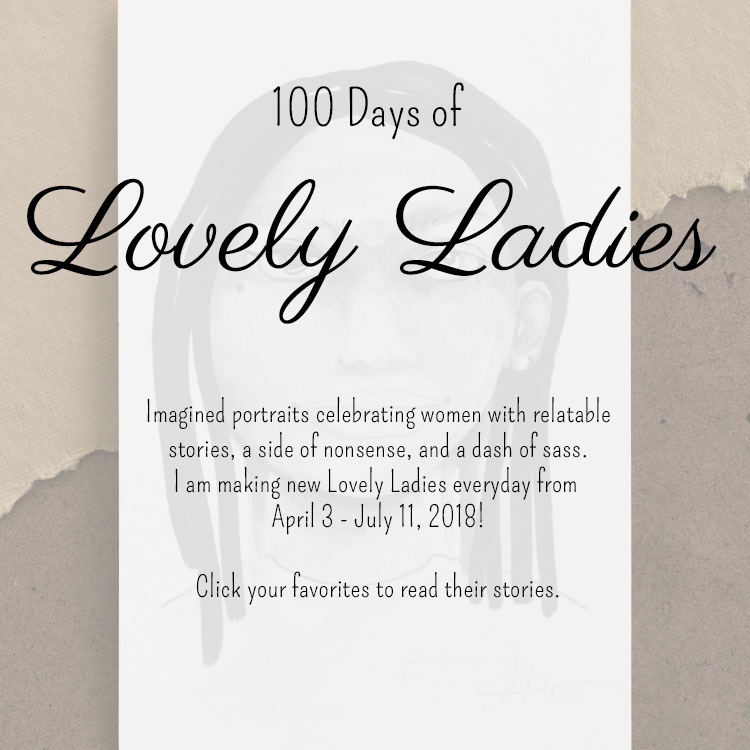 100 Days of Lovely Ladies