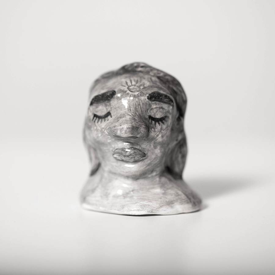 "Laura Johnston Ceramic, ~1.5"" 2018"