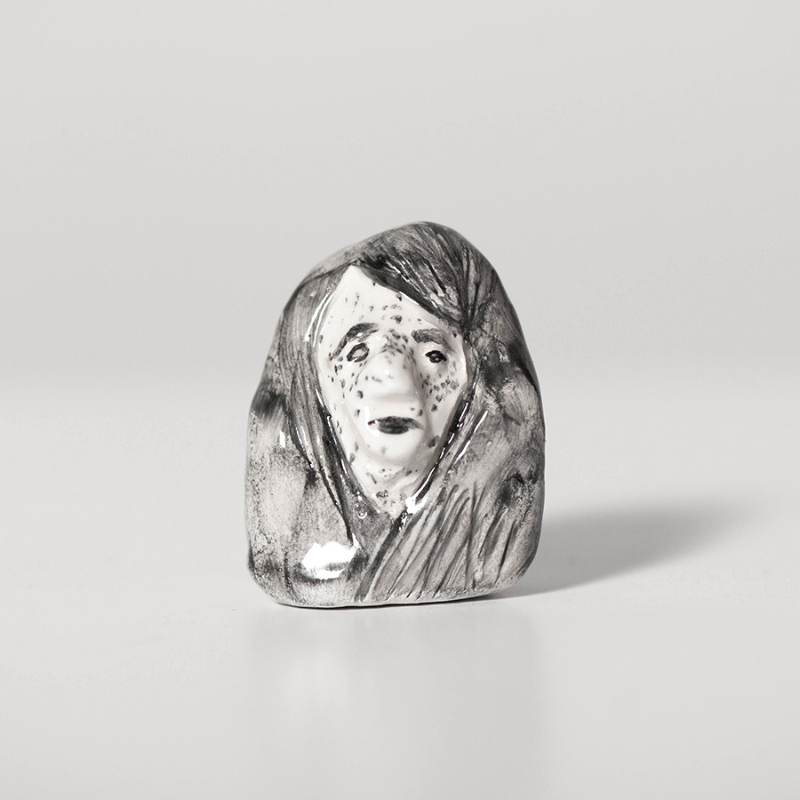 "Laura Johnston Ceramic, ~1.5"" 2019"