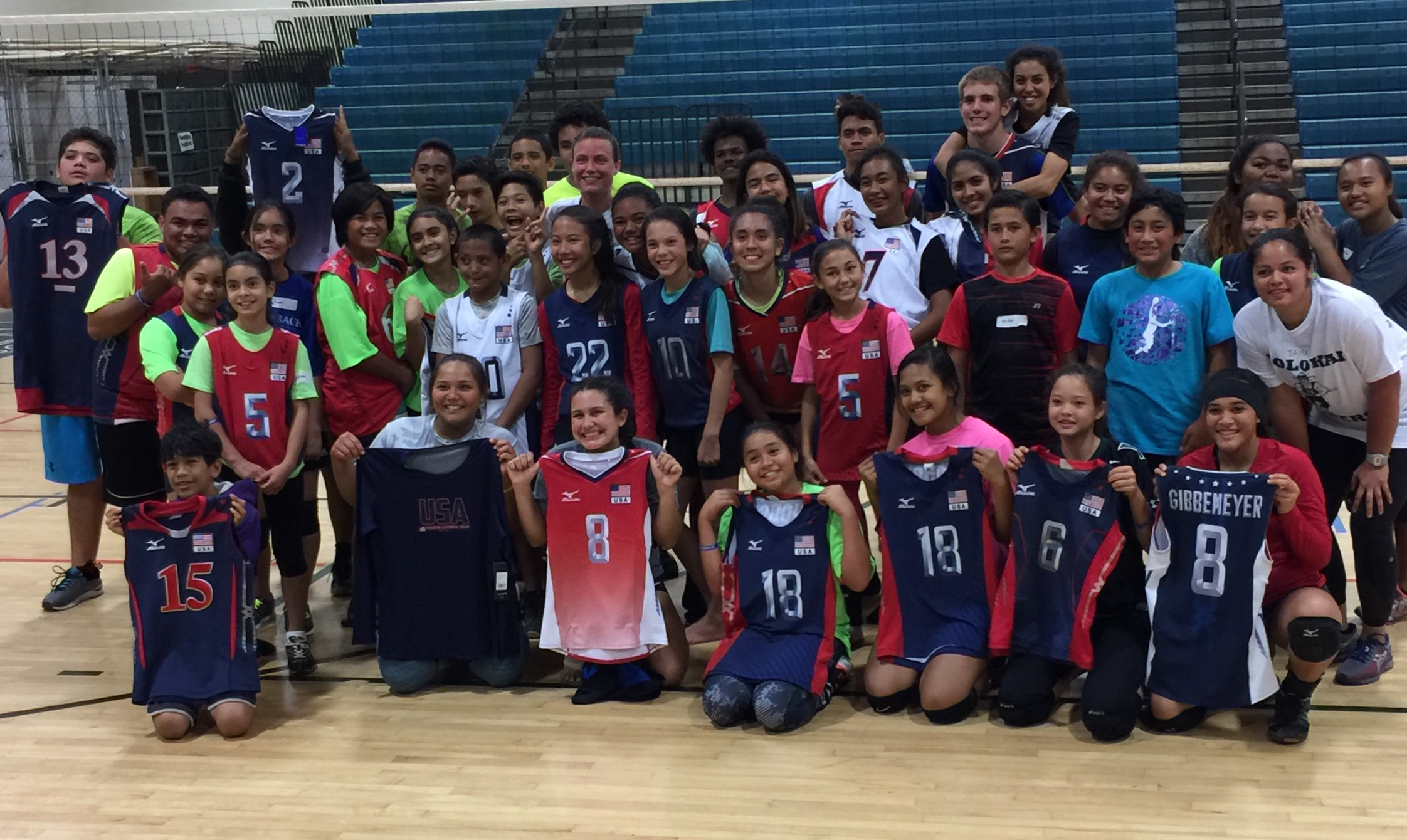 THANK YOU USA VOLLEYBALL!!! DREAM BIG KIDS!!!