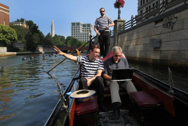 """The Providence Journal:  """"A Touch of Venice in Providence,"""" by Mark Patinkin  (2014)"""