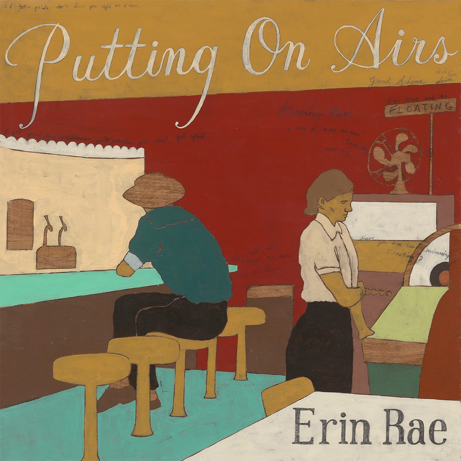 SL023:  Erin Rae-  Putting On Airs