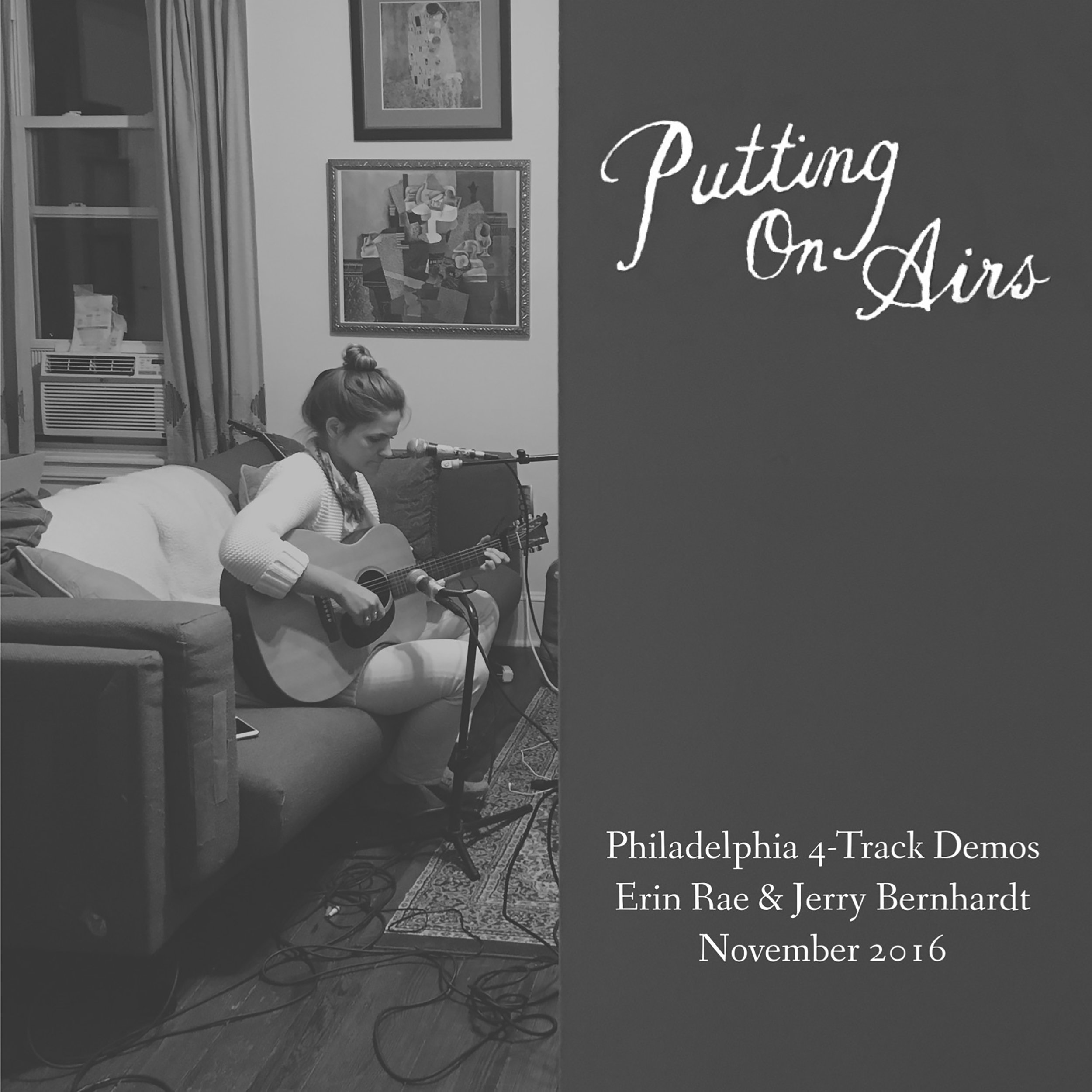 SL031:  Erin Rae -  Putting On Airs 4-Track Demos
