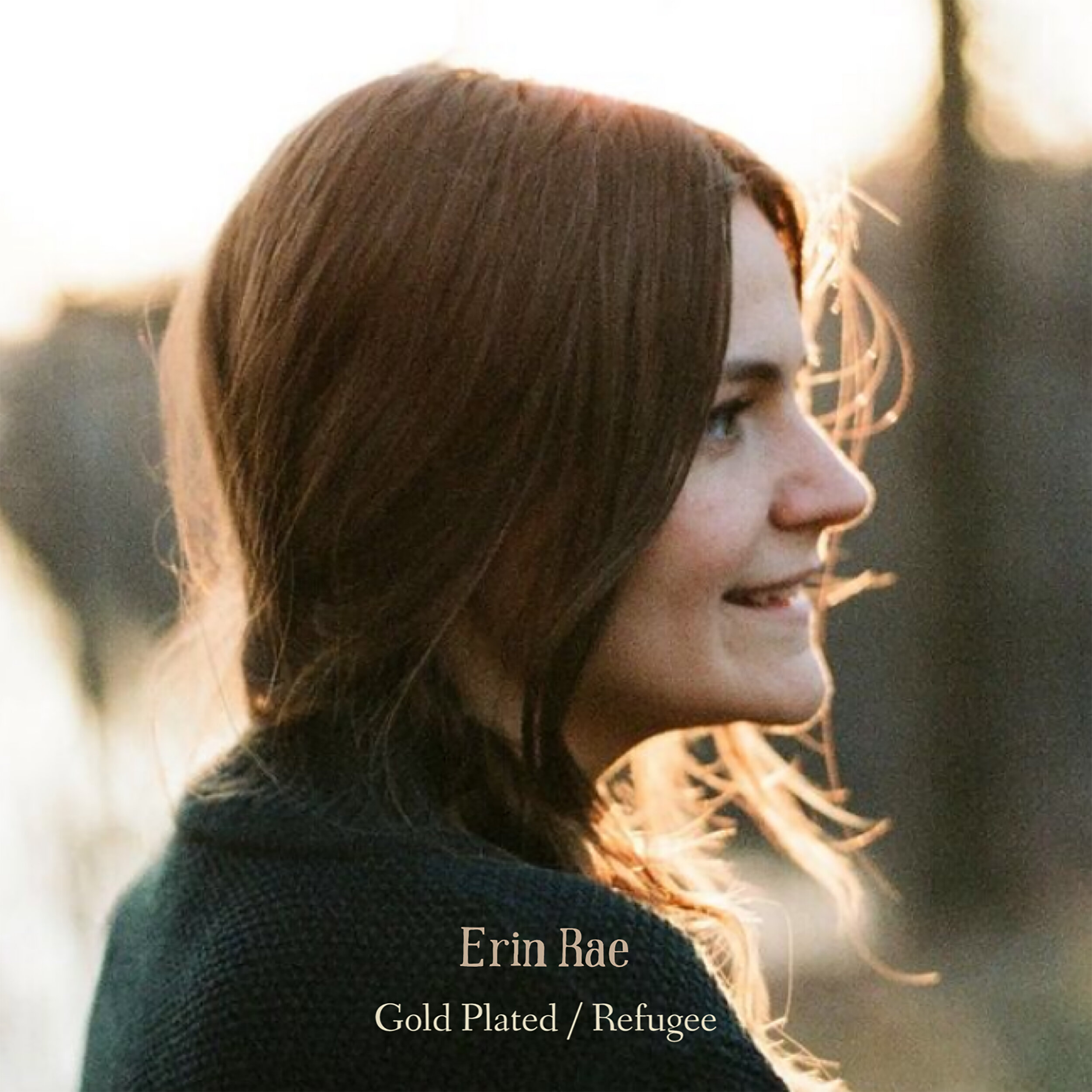 SL032:   Erin Rae -  Gold Plated b/w Refugee