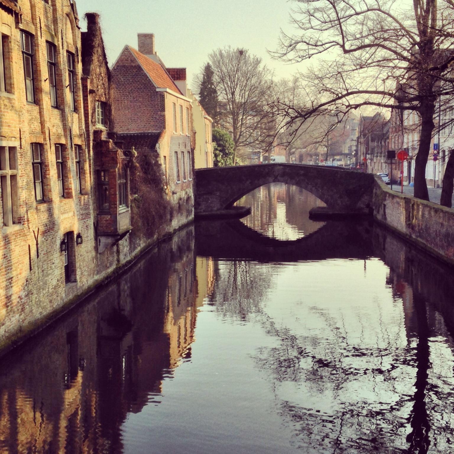 Brugge-bridge