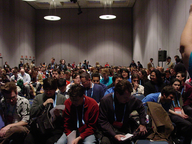GDC 2006 - a crowded, sweaty room!