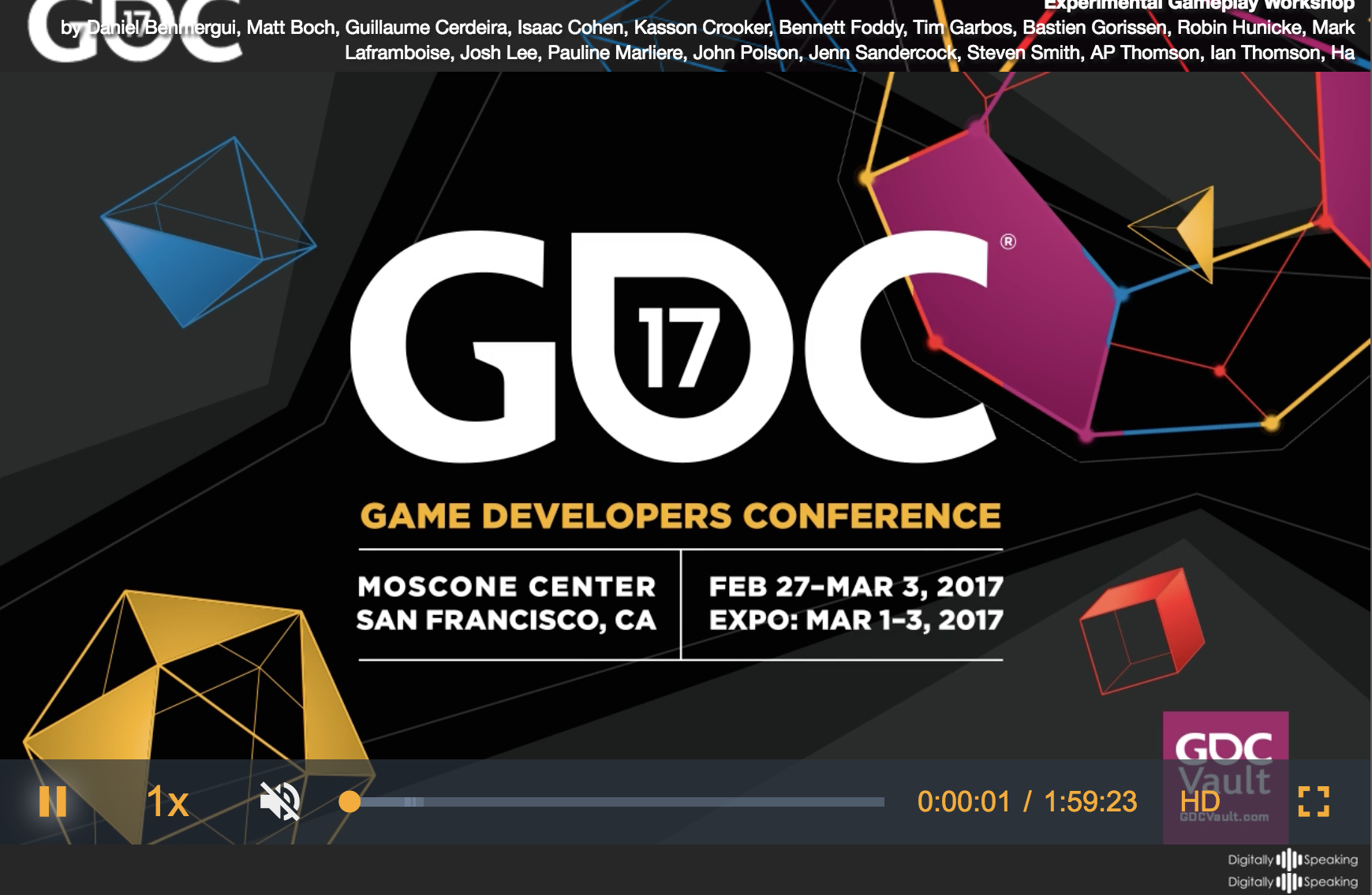https://www.gdcvault.com/play/1024377/Experimental-Gameplay