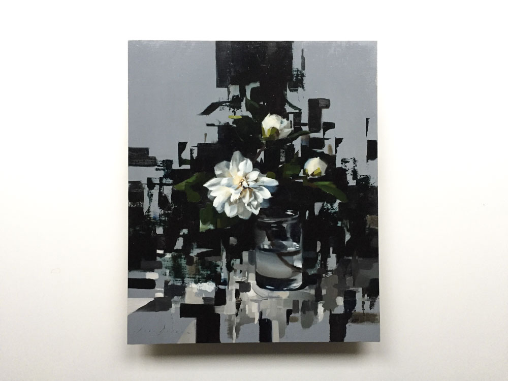Fragmented Camellia and Grey
