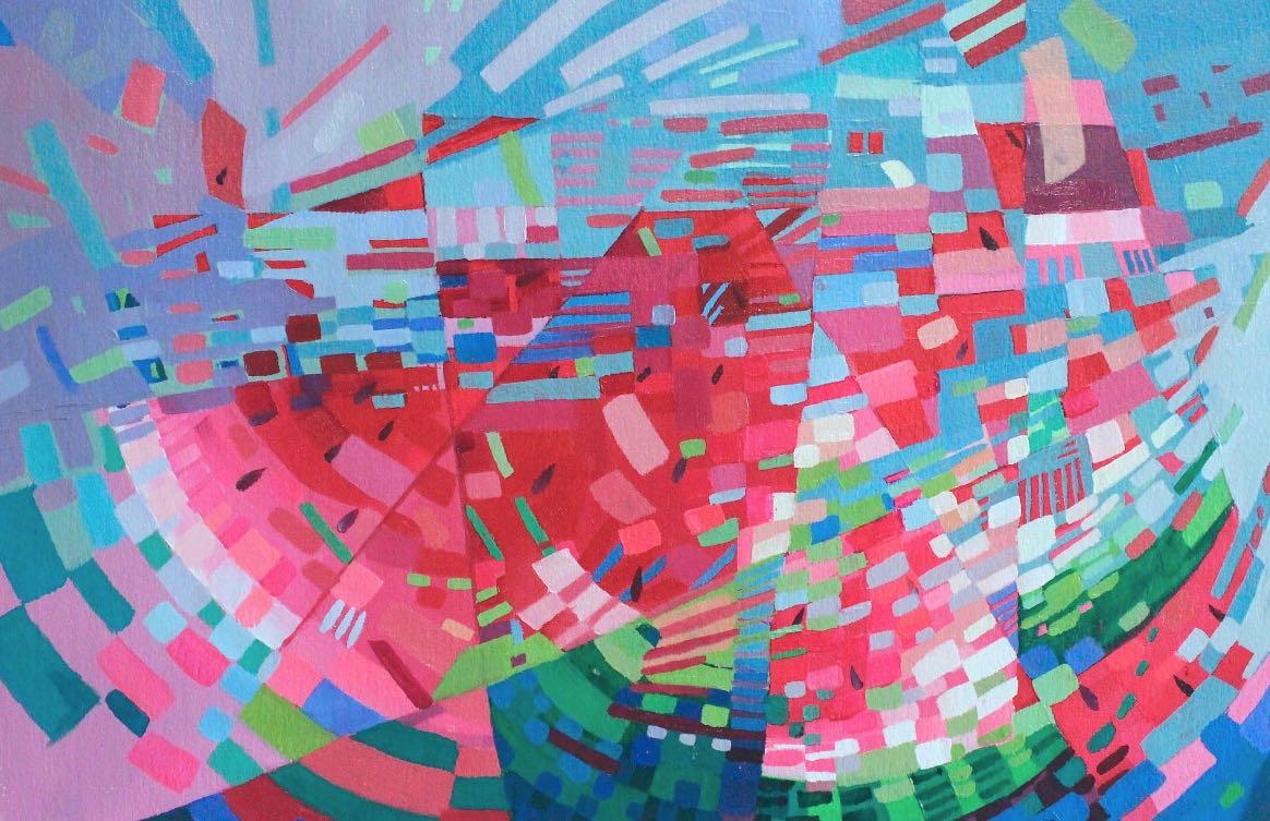 Copy of Sliced Watermelon, 2014. Print 20x18